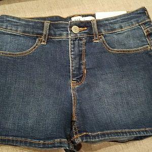 NWT Gap Jean Shorts Size 12